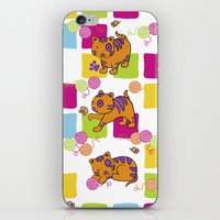 My Naughty Cat.  iPhone & iPod Skin