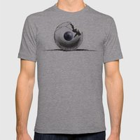 Broken Eye Mens Fitted Tee Athletic Grey SMALL