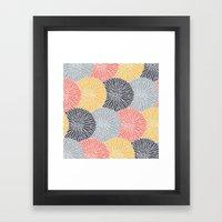 Flower Infusion Framed Art Print