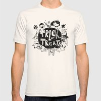 For Halloween - Trick or treat Mens Fitted Tee Natural SMALL
