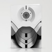 mark vii, new order iron man trooper Stationery Cards