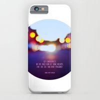 Live your dreams iPhone 6 Slim Case