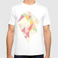 Facet I - Vector Mens Fitted Tee White SMALL