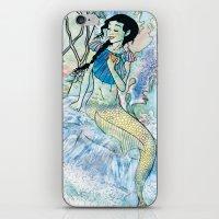 Pale Siren iPhone & iPod Skin
