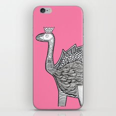 Dino Ostrich iPhone & iPod Skin