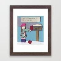 Mail Framed Art Print
