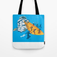 Bad Day At The Office Tote Bag