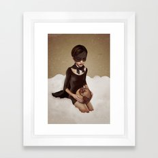 With Great Power Framed Art Print