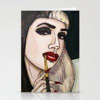 Ashley Dzerigian in VOGUE 2 Stationery Cards