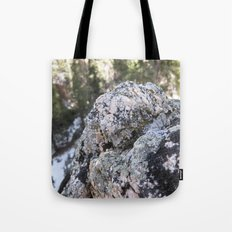 Crystalline Moss Tote Bag