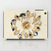 Finding Warmth Together iPad Case