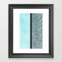 Watercolor 2 Framed Art Print