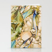 Blue Crab 2 Stationery Cards