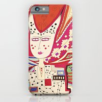 iPhone & iPod Case featuring Dame by Anna Rannveig