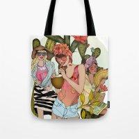 Hot N' Steamy Tote Bag