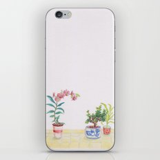 A flowery feeling iPhone & iPod Skin