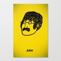 John. Canvas Print