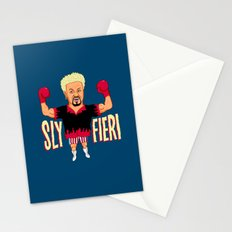 Sly Fieri Stationery Cards