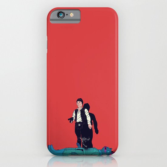Over my dead body iPhone & iPod Case