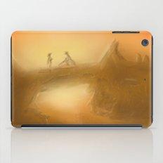 duel at dusk iPad Case
