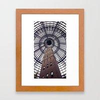 Melbourne Central Framed Art Print