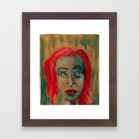 Ghosts in our society Framed Art Print