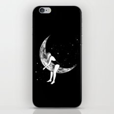 Moon Lover iPhone & iPod Skin