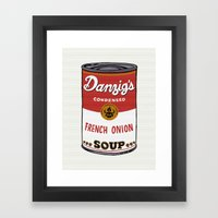 Danzig's Soup Framed Art Print