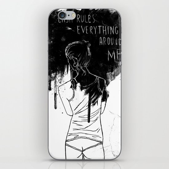 Cash Rules iPhone & iPod Skin