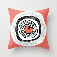 Loveburst Throw Pillow