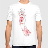 No Gods Mens Fitted Tee White SMALL