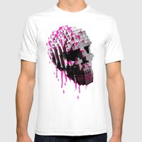Cranium Mens Fitted Tee White SMALL
