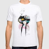 Nenufar Girl Mens Fitted Tee Ash Grey SMALL