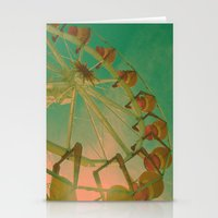 wheel carousel Stationery Cards