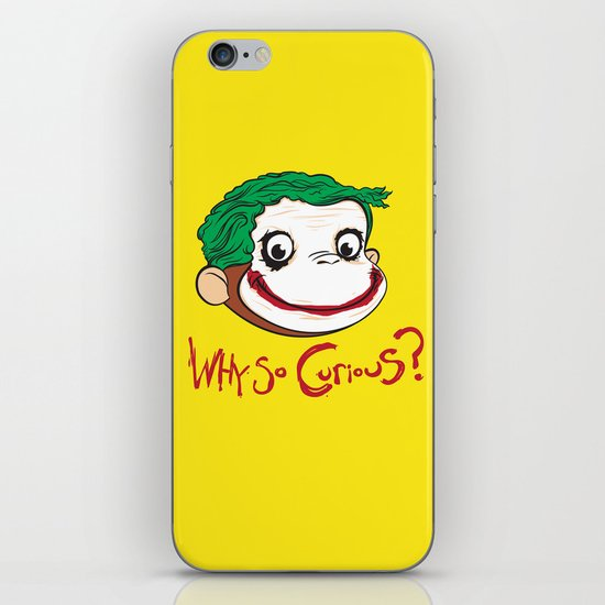 Why So Curious? iPhone & iPod Skin