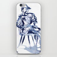 Cross You're Legs And … iPhone & iPod Skin