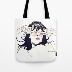 Hide Behind Connections Tote Bag