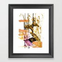 Goldengirl Framed Art Print