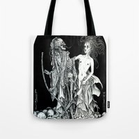 Death And The Maiden I Tote Bag