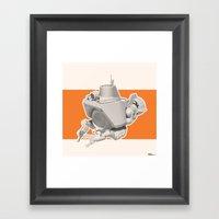 Exporers III - Submarine Framed Art Print
