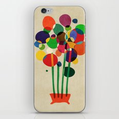 Happy flowers in the vase iPhone & iPod Skin