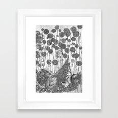 Trees and Leaves Framed Art Print