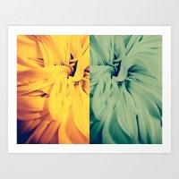 flower|rewolf Art Print