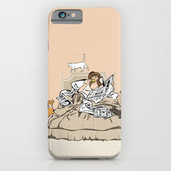 Sunday Mornings iPhone & iPod Case