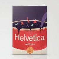 Helveti-soup Stationery Cards