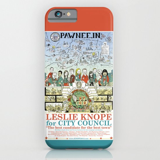 Leslie Knope for City Council - Parks and Recreation Dept. iPhone & iPod Case
