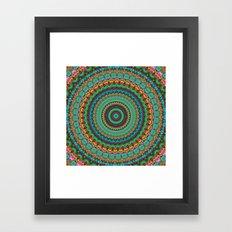 bohemian rhapsody  Mandala Framed Art Print