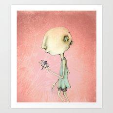 Odd Maud Art Print