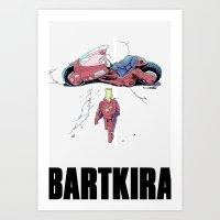 BartKira Poster Art Print
