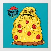 Pizza The Hutt Canvas Print